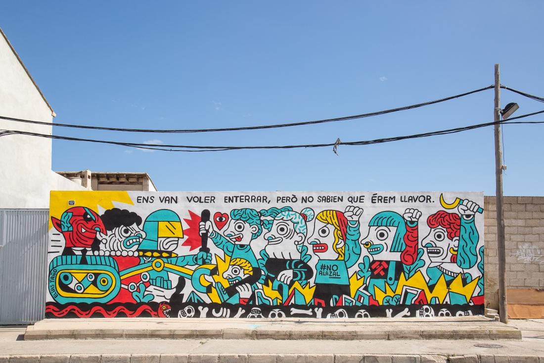 Sensemurs_Mural by Elías Taño_cred.Juanmi Ponce